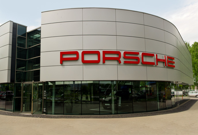 salon porsche centrum pozna�